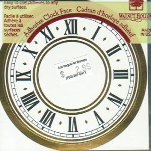 Walnut Hollow Small Adhesive clock face-0