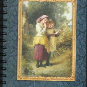 Brownlow Blank Victorian Lined Notebook-0
