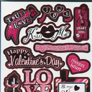 Recollections-Valentine Stickers-0