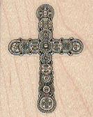 Steampunk Cross 1 1/2 x 1 3/4-0