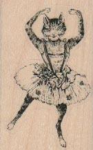 Cat Ballerina 1 1/2 x 2 1/4-0