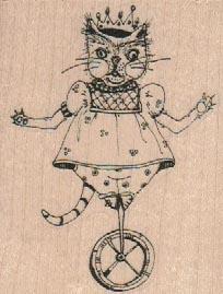 Wheeled Cat King 2 1/4 x 2 3/4-0
