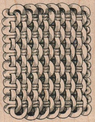 Tangle Stitched 3 1/2 x 4 1/4