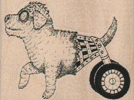 Wheeled Dog 2 3/4 x 2
