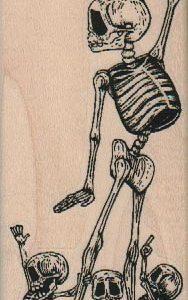 Skeleton Family 2 x 4 1/4-0