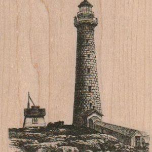 Lighthouse Scene 3 3/4 x 4 1/2-0