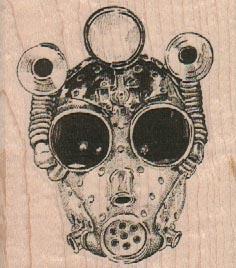 Gas Mask 2 1/2 x 2 3/4