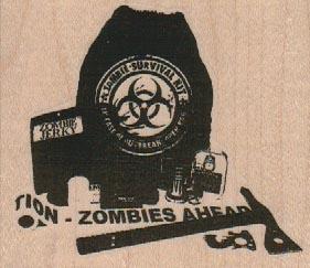 Zombie Apocalypse Kit 3 x 2 1/2-0