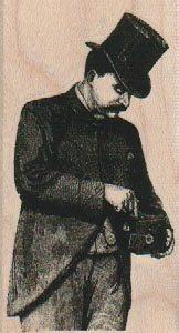 Victorian Cameraman 1 3/4 x 3 1/4-0