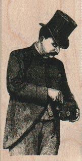 Victorian Cameraman 1 3/4 x 3 1/4