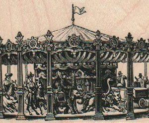 Victorian Carousel 4 x 2 1/2-0