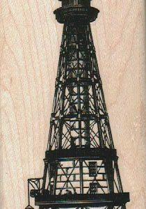 Vintage Lighthouse 2 1/4 x 4 1/2-0