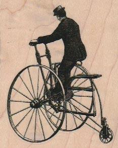Vintage Tricycle 2 1/2 x 3-0