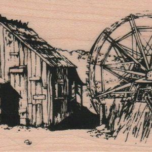 Barn Scene 2 1/2 x 4 3/4-0