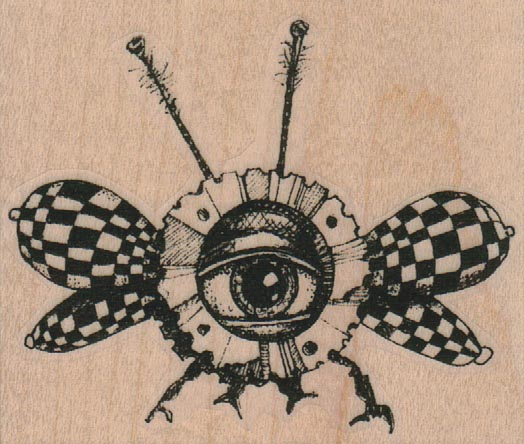 Flying Eye Insect 2 3/4 x 2 1/4