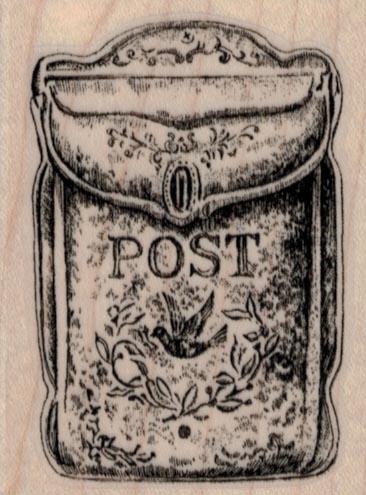 Vintage Letterbox 2 x 2 1/2