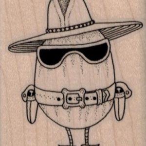 Egg Cowboy 2 x 2 1/4-0