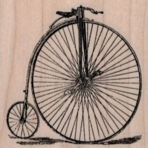 Penny Farthing 2 1/2 x 2 1/2-0
