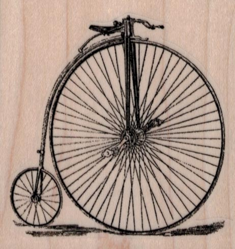Penny Farthing 2 1/2 x 2 1/2