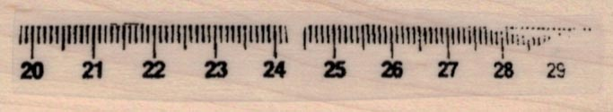 Measuring Tape Section 3/4 x 3 1/2