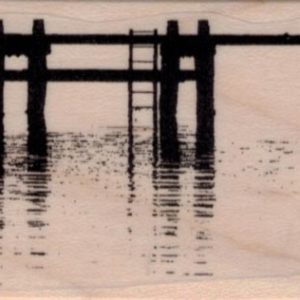 Pier or Dock Silhouette 1 3/4 x 2 34-0
