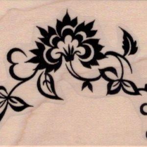 Oriental Flourish 2 x 2 1/2-0