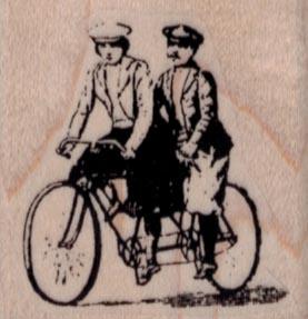 Vintage Tandem Bicycle 1 1/2 x 1 1/2-0