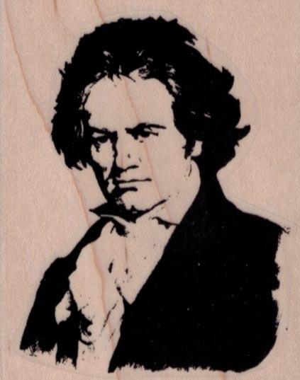 Beethoven 2 1/4 x 2 3/4