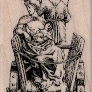 The Chariot Tarot Card 1 3/4 x 3 1/4-0