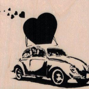 Banksy Love Bug 3 1/4 x 2 3/4-0