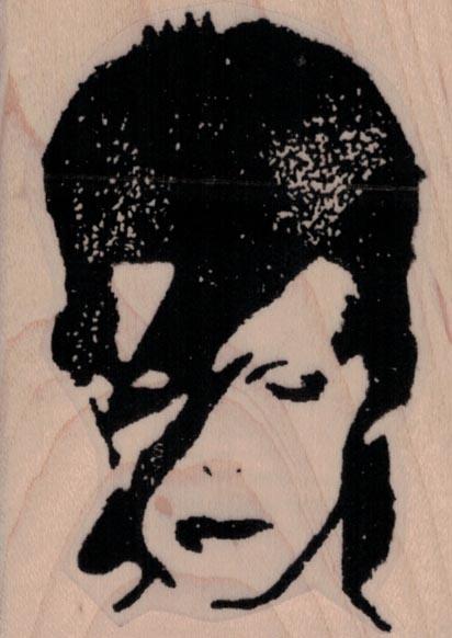Banksy David Bowie 2 1/4 x 3
