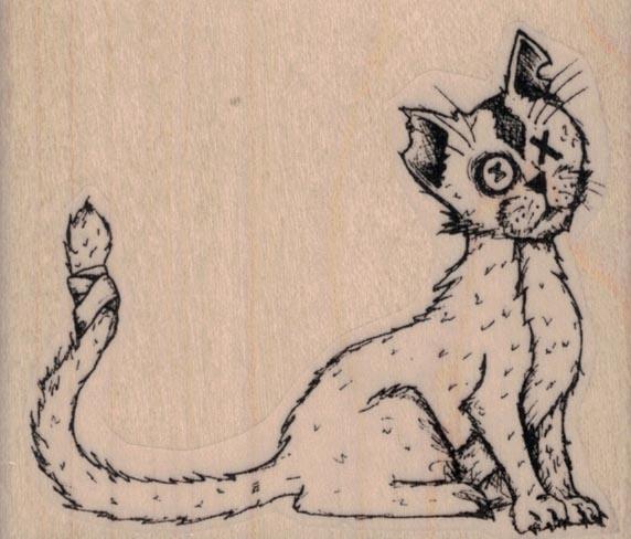 Creepy Cat by Tera Callihan 3 x 2 1/2