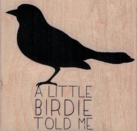 A Little Birdie 2 1/2 x 2 1/4