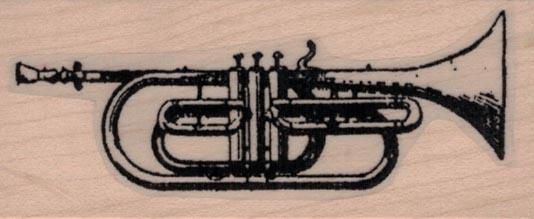Trumpet 1 1/4 x 2 3/4