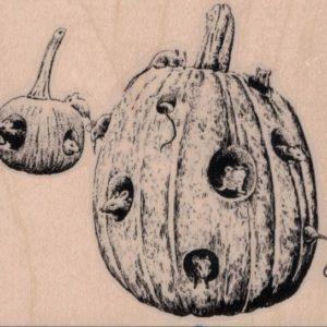 Rats In Pumpkin 3 1/4 x 2 3/4-0