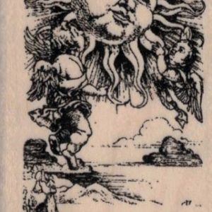 Tarot XIX The Sun 1 3/4 x 3-0