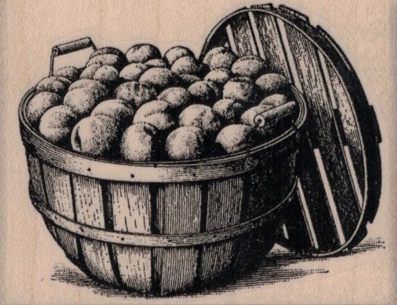 Bushel of Fruit 3 x 2 1/4