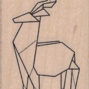 Origami Deer 1 3/4 x 2 1/2-0