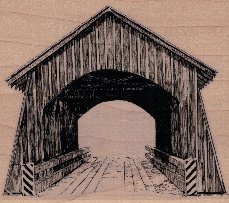 Covered Bridge 4 1/2 x 4 3/4