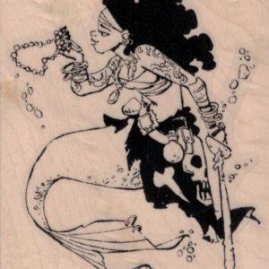 Miss Jessica Mermaid by Brian Kesinger 2 3/4 x 3 1/4-0