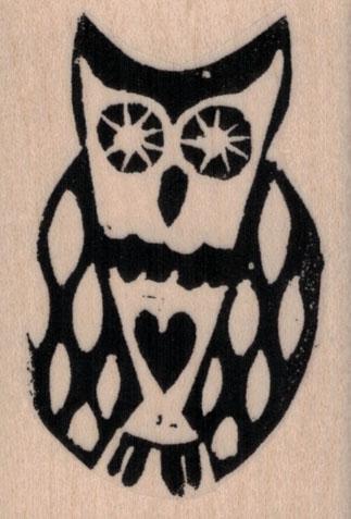 Ethos Owl by Tina Walker 1 3/4 x 2 1/2
