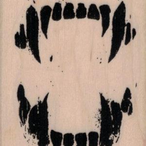 Set of Vampire Teeth 2 1/4 x 2 3/4-0
