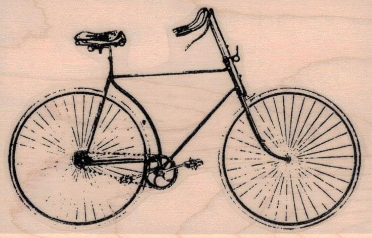 Vintage Bicycle 2 1/2 x 3 3/4