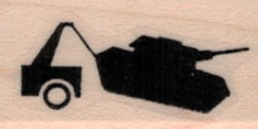 Banksy Tank 3/4 x 1 1/4