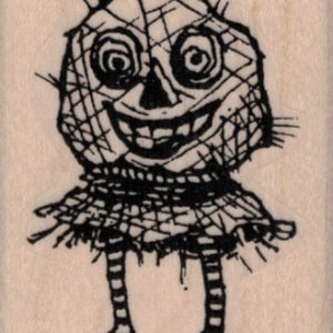 Whimsical Scarecrow 1 ¾ x 2 ¼-0