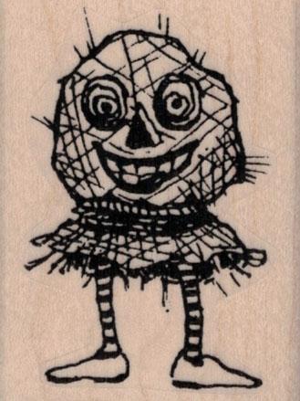 Whimsical Scarecrow 1 ¾ x 2 ¼