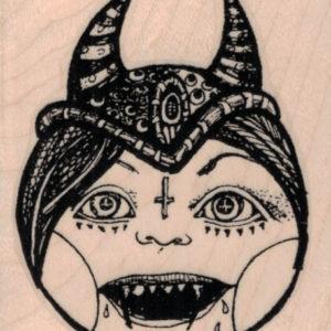 Whimsical Demon 2 ½ x 3-0