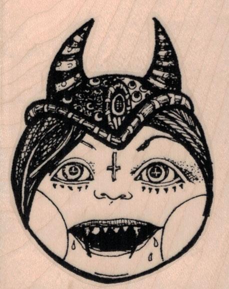 Whimsical Demon 2 ½ x 3