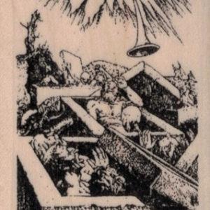 Tarot XX-Judgement 1 3/4 x 3 1/4-0
