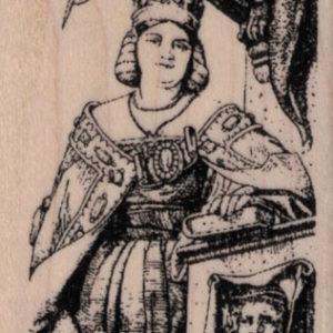Tarot II-High Priestess 1 3/4 x 3 1/4-0